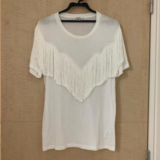アクネ(ACNE)のACNE フリンジTシャツ(Tシャツ(半袖/袖なし))