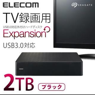 エレコム(ELECOM)のELECOM 外付けHDD 2TB(テレビ)