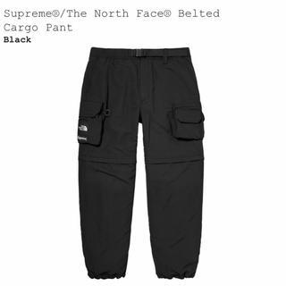 Supreme - Sサイズ Supreme TNF Belted Cargo Pant Black