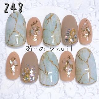 送料&カラー変更1色無料«248»ジェルネイルチップ♡*゜