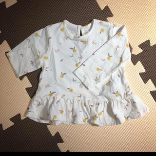 ザラ(ZARA)のZARA 70サイズ  長袖Tシャツ(Tシャツ)