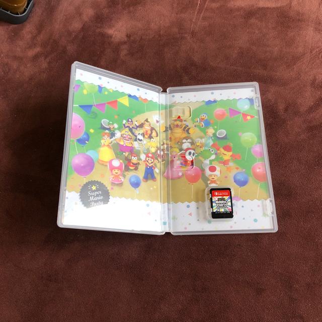 スーパーマリオパーティー switch スイッチ エンタメ/ホビーのゲームソフト/ゲーム機本体(家庭用ゲームソフト)の商品写真