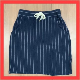 RODEO CROWNS WIDE BOWL - RCWB ロデオクラウンズ スカート ひざ丈 ストライプ