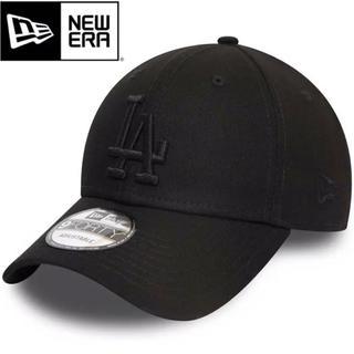 NEW ERA - ニューエラ キャップ LA ドジャース オールブラック 黒 ブラック