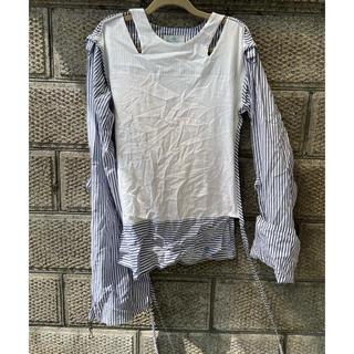 ヴィヴィアンウエストウッド(Vivienne Westwood)のヴィヴィアンウエストウッド 変形シャツ シャツ(シャツ/ブラウス(長袖/七分))