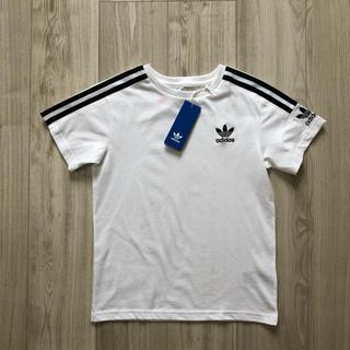 オリジナル(Original)のR様 専用 アディダスオリジナルス ロックアップTシャツ 白 110(Tシャツ/カットソー)