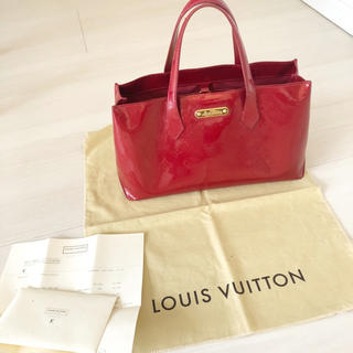 LOUIS VUITTON - ルイヴィトン ウィルシャーブルーバード 赤 Louis Vuitton