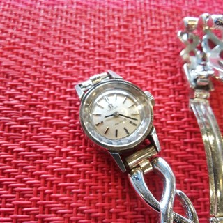 OMEGA - OMEGA オメガ 時計 デビル カットガラス 手巻き レディース