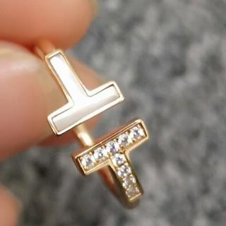 ティファニー(Tiffany & Co.)の*美品* ティファニー TIFFANY 指輪 ピンクゴールド(リング(指輪))