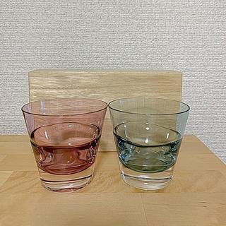 スガハラ(Sghr)の新品未使用★SghrペアグラスDUO(グラス/カップ)