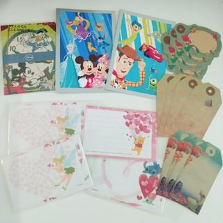 ディズニー(Disney)のdisney 便箋 メッセージカード グリーティングカード 等 まとめ売り(カード/レター/ラッピング)