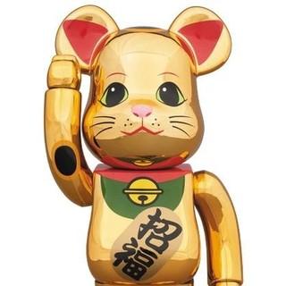 MEDICOM TOY - 【送料込】金メッキ 5 伍 五 ベアブリック ソラマチ メディコムトイ 400%