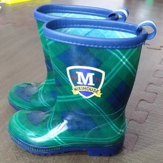 ミキハウス(mikihouse)の【値下げ】15cm ミキハウス 長靴(長靴/レインシューズ)