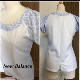 ニューバランス(New Balance)のNB ニューバランスパフスリーブシャツS(ウェア)