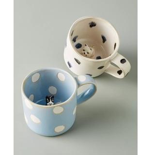 アンソロポロジー(Anthropologie)の新作 アンソロポロジー マグカップ 2つセット(グラス/カップ)