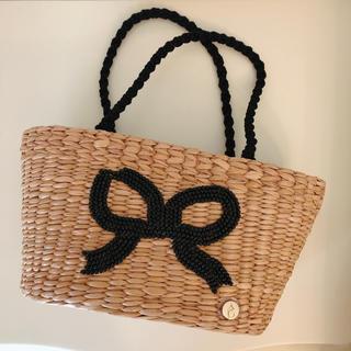 アナトリエ(anatelier)の かごバッグ ビーズ刺繍(かごバッグ/ストローバッグ)
