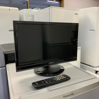 SHARP - SHARP 液晶カラーテレビ AQUOS 19V型 2018年製