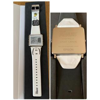 エプソン(EPSON)のEPSON  スマートキャンバス スヌーピー(腕時計)