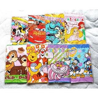 ディズニー(Disney)のディズニーミニタオル8枚セット(タオル/バス用品)