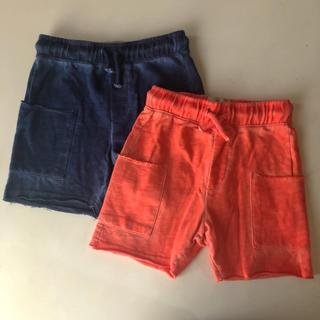 ザラ(ZARA)の美品 ZARA 半ズボン ショートパンツ 2枚セット(パンツ/スパッツ)