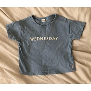しまむら - テータテート 曜日Tシャツ 100