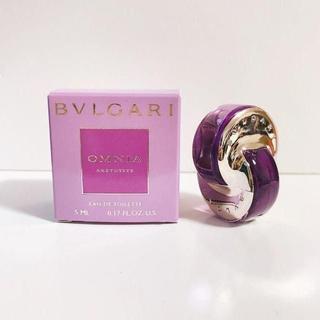 ブルガリ(BVLGARI)のブルガリ オムニア アメジスト EDT 5ml(香水(女性用))