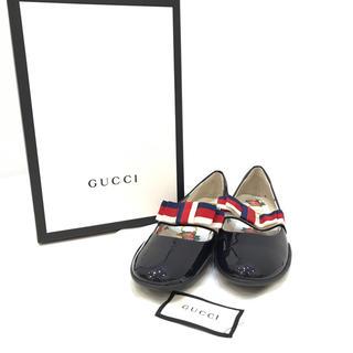 グッチ(Gucci)の6094 GUCCI グッチ 靴 シェリー フローラル パンプス サイズ34(ハイヒール/パンプス)