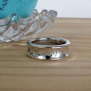 ティファニー(Tiffany & Co.)のTIFFANY & Co. ティファニー 1837 ナローリング 13.5号(リング(指輪))