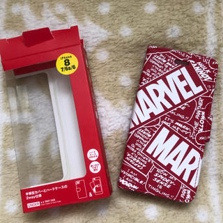 マーベル(MARVEL)のMARVEL iPhone8スマホケース (iPhoneケース)