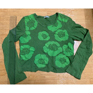COMME des GARCONS - 花柄長袖カットソー