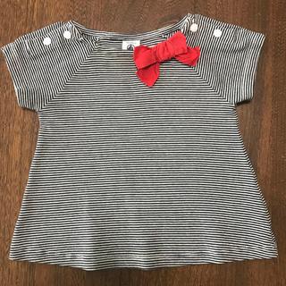 PETIT BATEAU - プチバトー Tシャツ 81㎝ 女の子