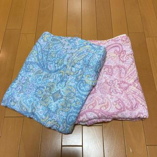 ガーゼ肌掛け布団カバー2枚セット(シーツ/カバー)