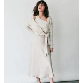 FRAY I.D - フレイアイディー サテンナロースカート
