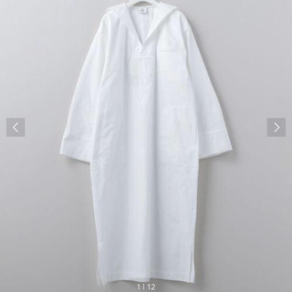 UNITED ARROWS - ROKU 6セーラーカラーシャツドレスワンピース