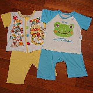 アンパンマン(アンパンマン)の子供服  半袖 パジャマ  95cm(パジャマ)