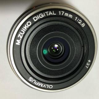 オリンパス(OLYMPUS)のオリンパス OLYMPUS パンケーキM.ZUIKO 17mm 1:2.8単焦点(レンズ(単焦点))