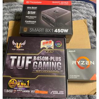 CPU RYZEN 3600 マザーボード 電源ユニット セット