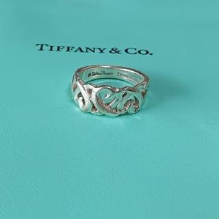 ティファニー(Tiffany & Co.)のティファニー ラビングトリプルハート   パロマ・ピカソ リング11号(リング(指輪))