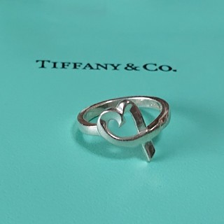 ティファニー(Tiffany & Co.)のティファニー  ラビングハート パロマピカソ リング12号(リング(指輪))