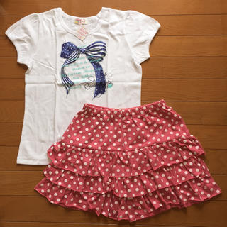 motherways - motherways Tシャツ&フリルキュロット 150cm SETアップ