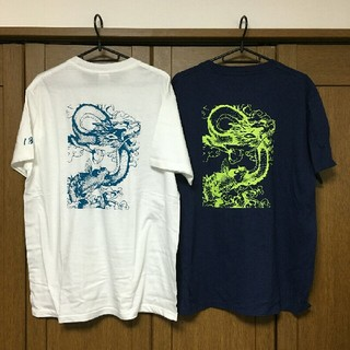 2枚セット【送料無料】DRAGONTシャツLサイズ