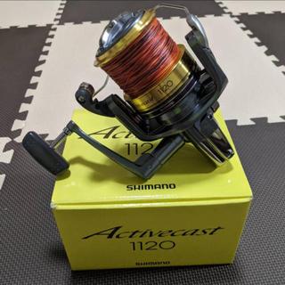 シマノ(SHIMANO)のクラウンさま専用 ライン付き シマノ リール アクティブキャスト 1120 大物(リール)