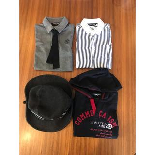 コムサイズム(COMME CA ISM)のコムサイズム 3トップス &  キャップ(Tシャツ/カットソー)