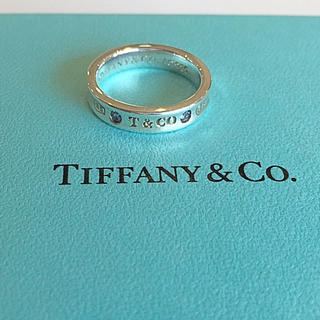 ティファニー(Tiffany & Co.)のティファニー モンタナサファイア 1837 ナローリング(リング(指輪))