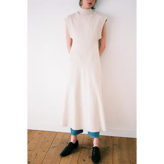 クラネ W FACE LONG KNIT ONE PIECE 完売商品