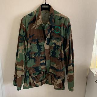 U.S..ARMY ミリタリーシャツ ミリタリージャケット 迷彩 M(ミリタリージャケット)