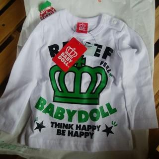 ベビードール(BABYDOLL)のBABYDOLL 上下セット 80 未使用(Tシャツ)