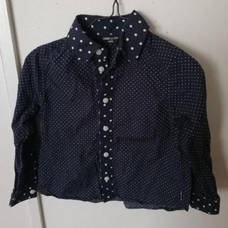 コムサイズム(COMME CA ISM)のコムサ 100 シャツ ドット 結婚式 入学式 (Tシャツ/カットソー)