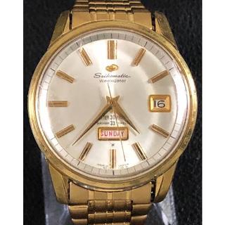 セイコー(SEIKO)のアンティーク セイコーマチックウィークデータ(腕時計(アナログ))
