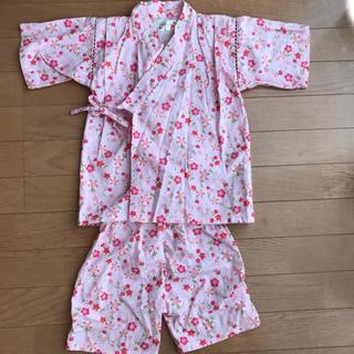 値下げ!美品✨甚平 キッズ 110(甚平/浴衣)